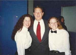 Me with Al Gore 1996